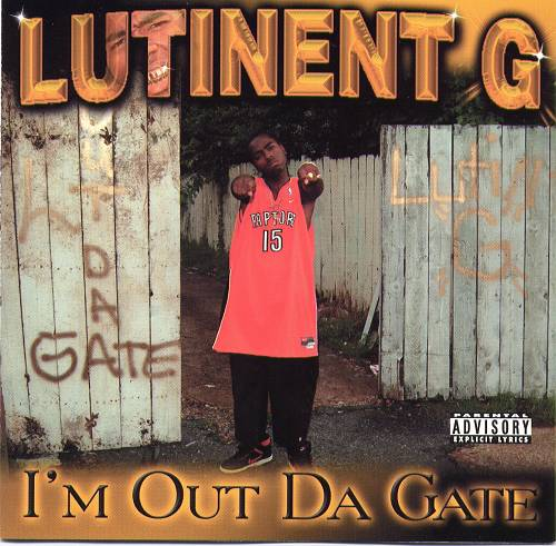 Lutinent G - I`m Out Da Gate cover