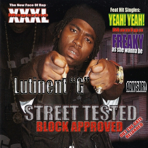 Lutinent G - Street Tested, Block Approved cover