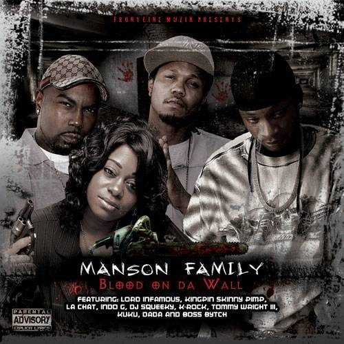 Manson Family - Blood On Da Wall cover
