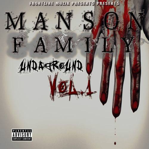 Manson Family - Undaground Vol. 1 cover