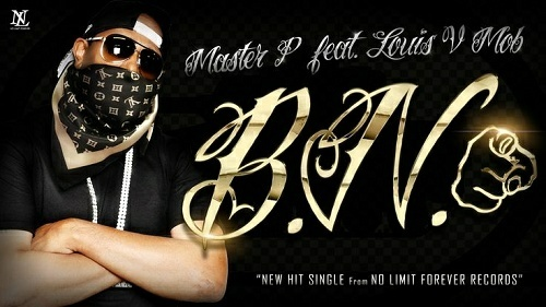 Master P - B.N. cover