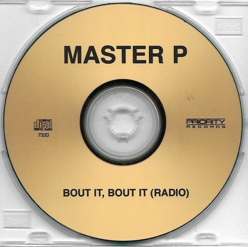 Master P - Bout It, Bout It II (CDr Single, Promo) cover