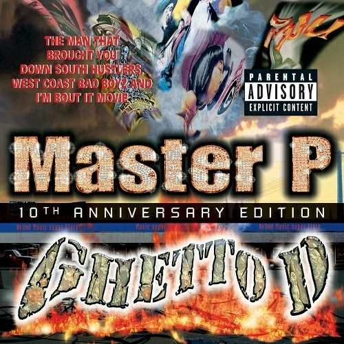 Master P - Ghetto D (10th Anniversary Edition) cover