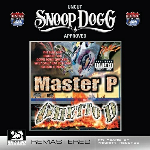 Master P - Ghetto D (U.S.D.A. Remastered) cover