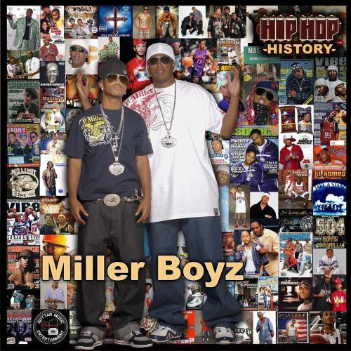Miller Boyz - Hip Hop History cover
