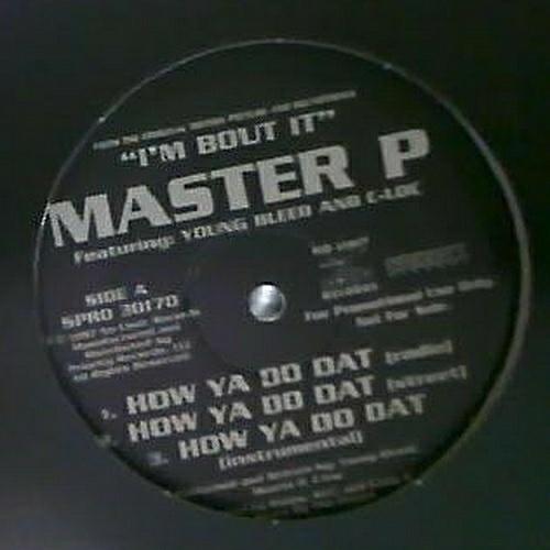 Master P - How Ya Do Dat (12'' Vinyl, Promo) cover