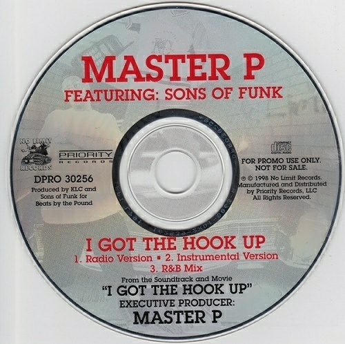 Master P - I Got The Hook Up (CD, Promo) cover