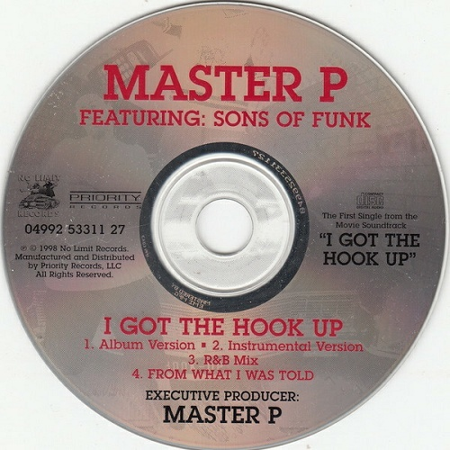 Master P - I Got The Hook Up! (CD Single) cover