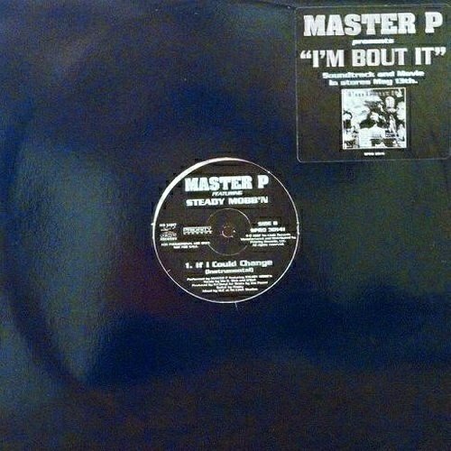 Master P - If I Could Change (12'' Vinyl, Promo) cover