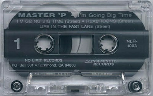 Master P - I`m Going Big Time (Cassette, Maxi-Single) cover