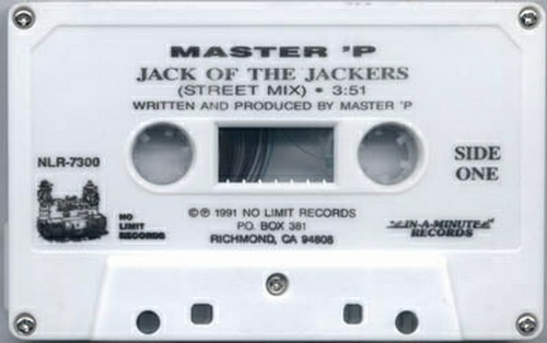 Master P - Jack Of The Jackers (Cassette Single) cover