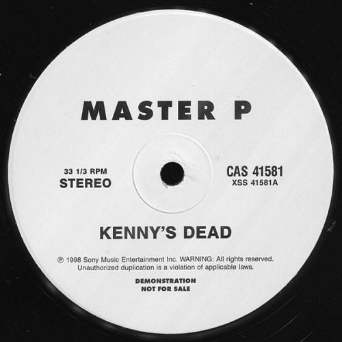 Master P - Kenny`s Dead (12'' Vinyl, 33 1-3 RPM, Promo) cover