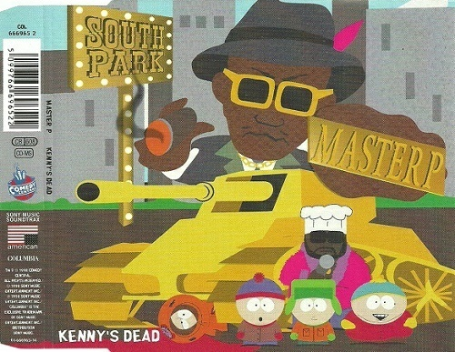 Master P - Kenny`s Dead (CD Single, UK) cover