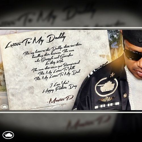 Master P - Letter To My Daddy cover