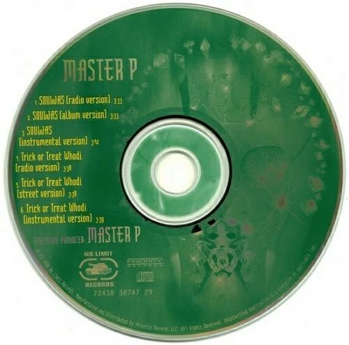 Master P - Souljas # Trick Or Treat Whodi (CD Single) cover