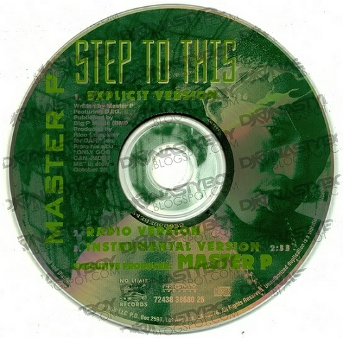 Master P - Step To This (CD Single) cover