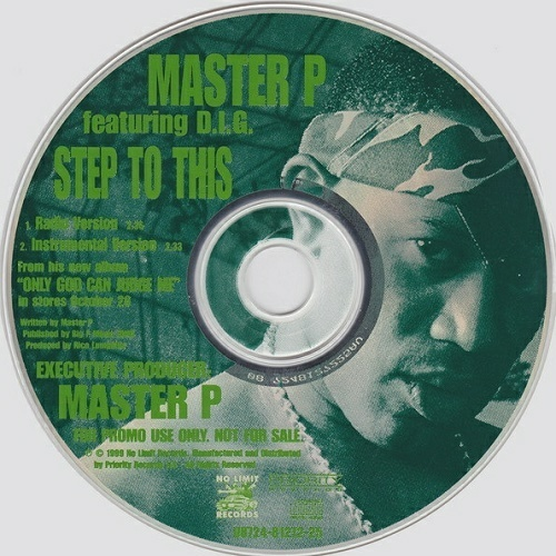 Master P - Step To This (CD Single, Promo) cover