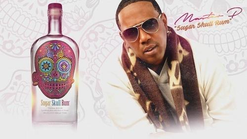 Master P - Sugar Skull Rum cover