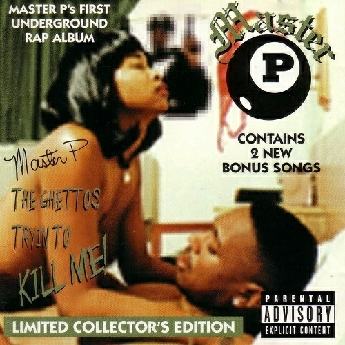Master P - The Ghettos Tryin To Kill Me! (Limited Collector`s Edition) cover