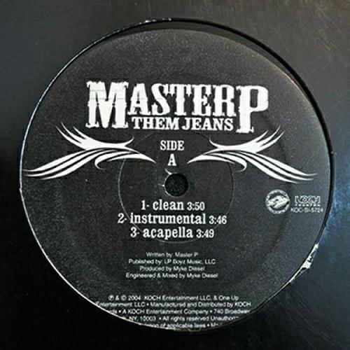 Master P - Them Jeans (12'' Vinyl) cover