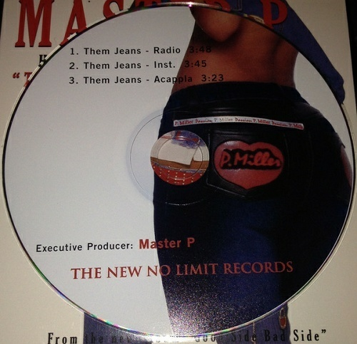 Master P - Them Jeans (CD Single) cover