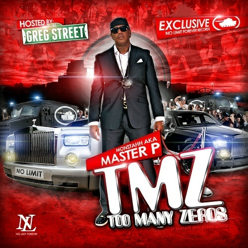 Master P - TMZ. Too Many Zeros cover