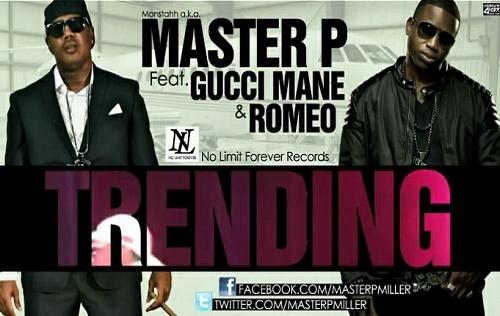 Master P - Trending (Promo CDS) cover