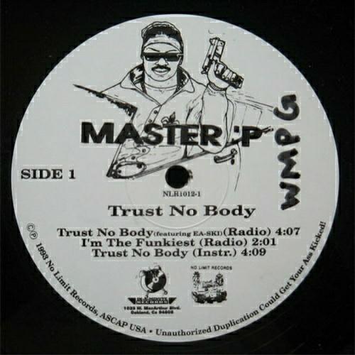Master P - Trust No Body (12'' Vinyl) cover