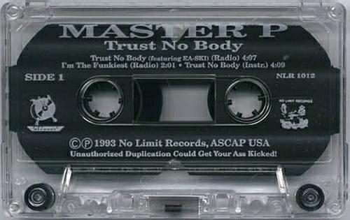 Master P - Trust No Body (Cassette, Maxi-Single) cover