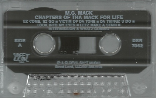 M.C. Mack - Chapters Of Tha Mack For Life cover