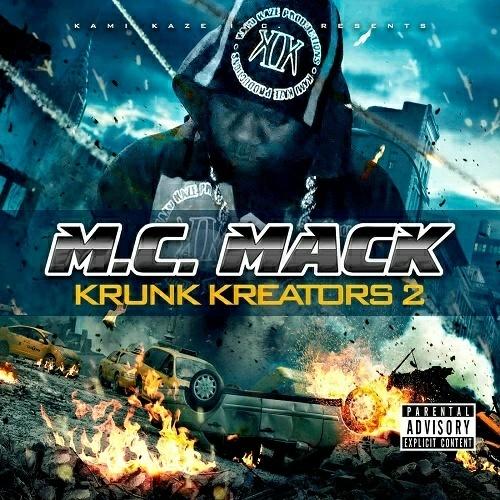 M.C. Mack - Krunk Kreators 2 cover
