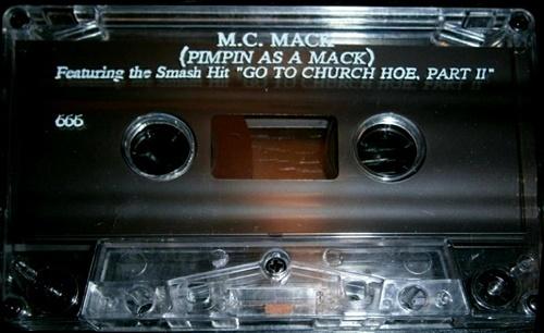 M.C. Mack - Pimpin As A Mack cover