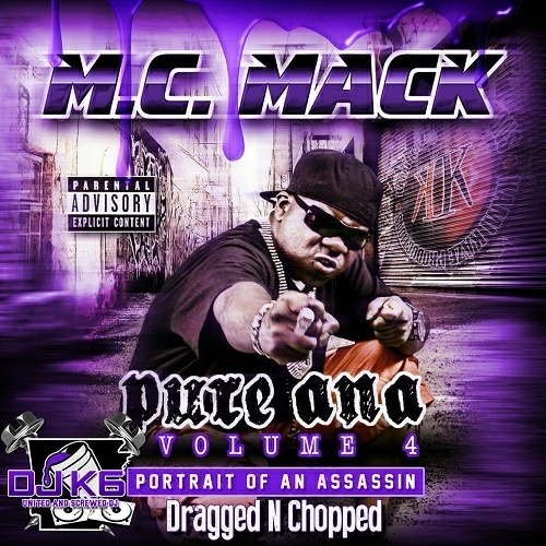 M.C. Mack - Pure Ana, Volume 4. Portrait Of An Assassin (dragged-n-chopped) cover