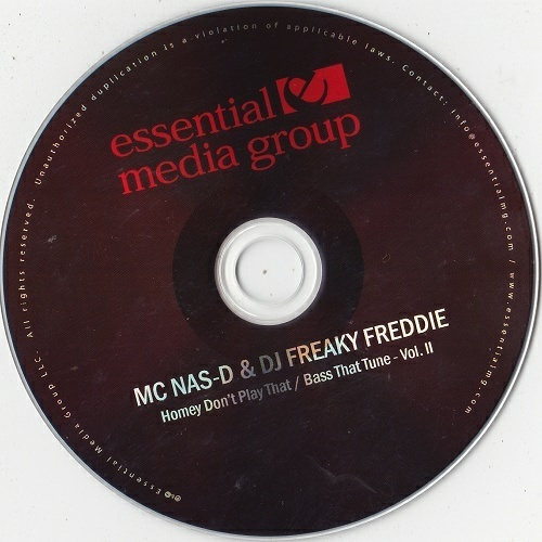 MC Nas-D & DJ Freaky Freddie - Homey Don`t Play That # Bass That Tune Vol. II (CD Single) cover