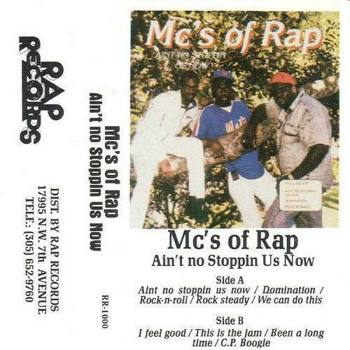 MC`s Of Rap - Ain`t No Stoppin Us Now cover