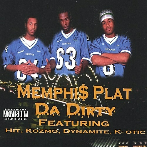 Memphi$ Plat - Da Dirty cover