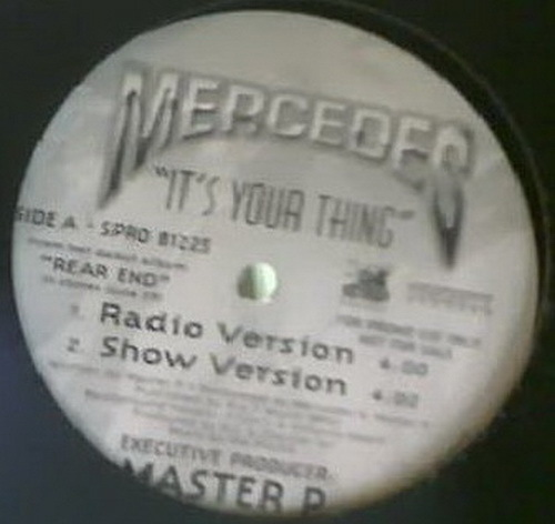 Mercedes - It`s Your Thing (12'' Vinyl, 33 1-3 RPM, Promo) cover