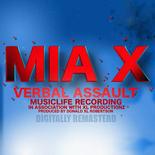 Mia X - Verbal Assault cover