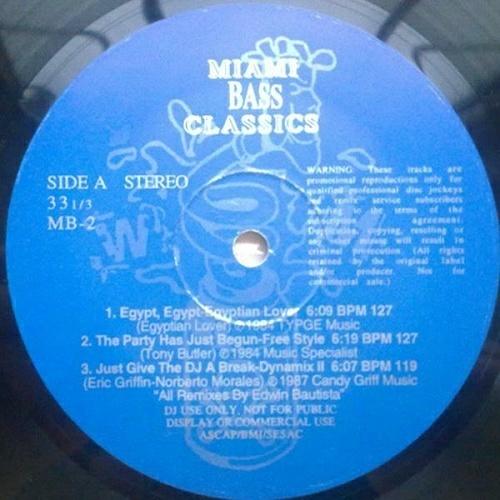 Miami Bass Classics Vol. 2 cover