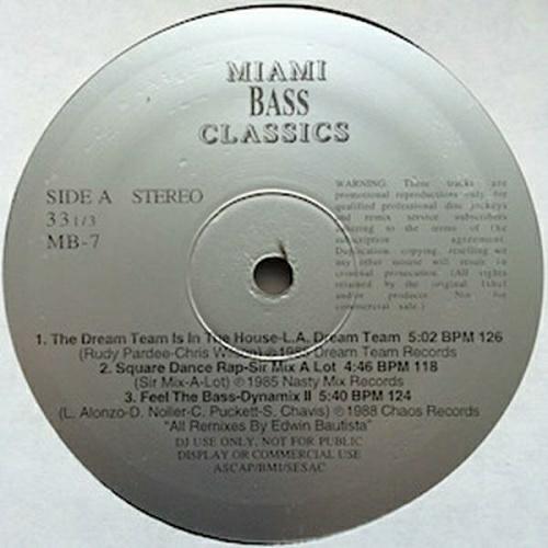 Miami Bass Classics Vol. 7 cover