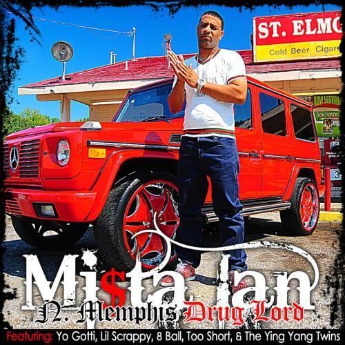 Mista Ian - N. Memphis Drug Lord cover