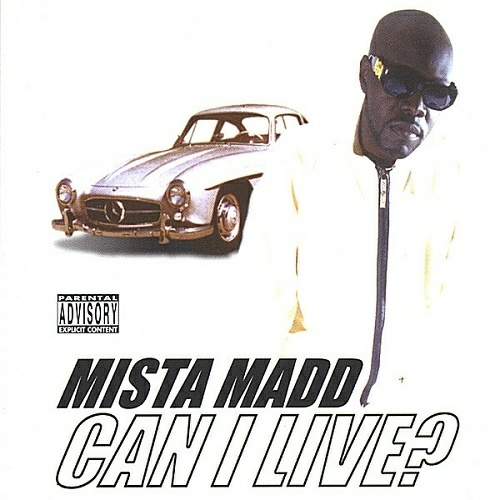 Mista Madd - Can I Live? cover
