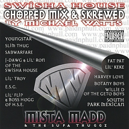 Mista Madd - Mista Madd & The Supa Thuggz (chopped mix & skrewed) cover