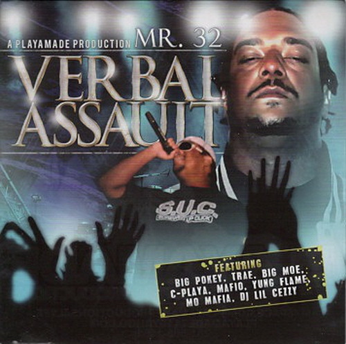 Mr. 3-2 - Verbal Assault cover