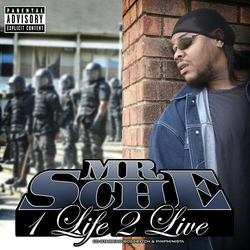 Mr. Sche - 1 Life 2 Live cover