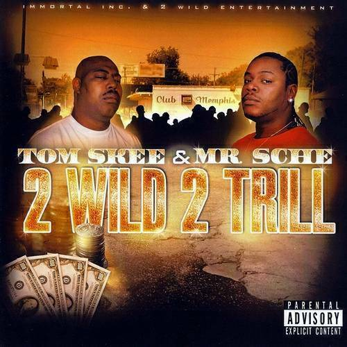 Tom Skee & Mr. Sche - 2 Wild 2 Trill cover