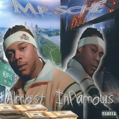 Mr. Sche - Almost Infamous cover