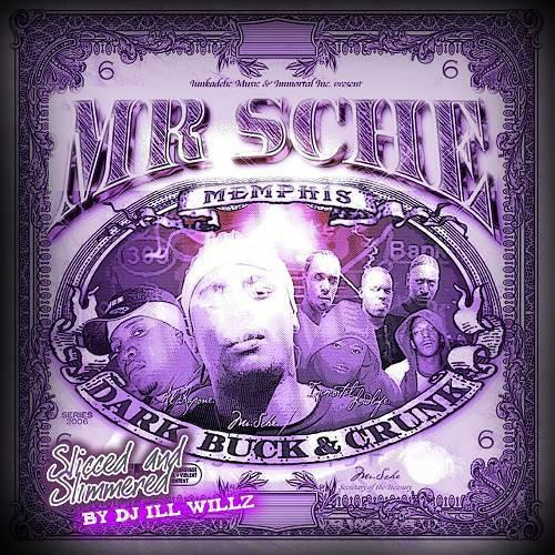 Mr. Sche - Dark, Buck & Crunk (slicced & simmered) cover