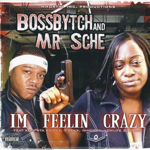 Boss Bytch & Mr. Sche - Im Feelin Crazy cover