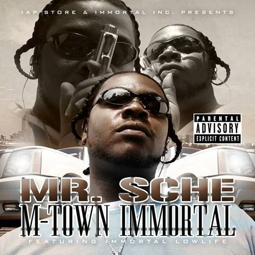 Mr. Sche - M-Town Immortal cover